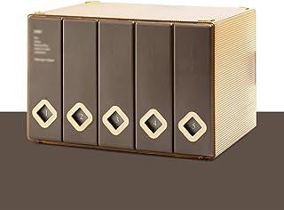 Rack de Almacenamiento de Discos de Vinilo LP, CD Ps4 Game Disc DVD Caja de Almacenamiento de Gran Capacidad - Fundas para...