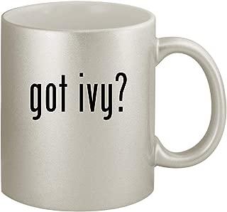 got ivy? - Ceramic 11oz Silver Coffee Mug, Silver