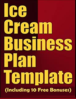 ice cream store business plan template