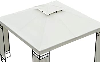 OUTSUNNY 3m x 3m Replacement Gazebo Canopy Roof Top Cover Spare Part New