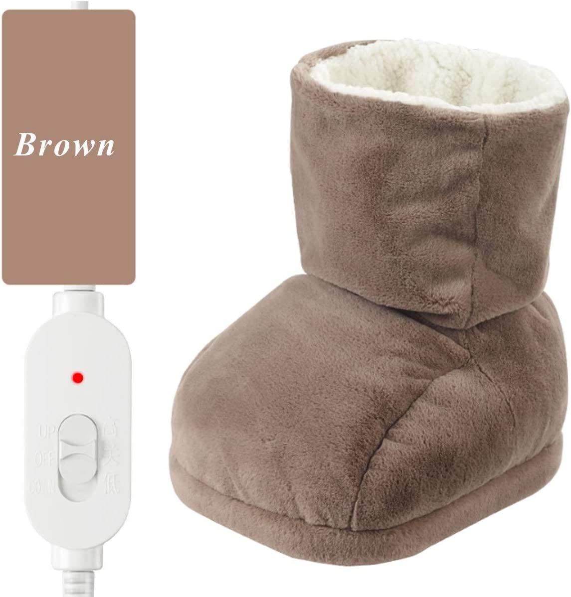Details about  /Electric 5V USB Fast Heating Shoes Foot Warmer Plush Warming Feet Heater Outdoor