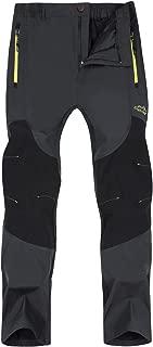 Singbring Outdoor Lightweight Waterproof Hiking Mountain Pants for Men Women