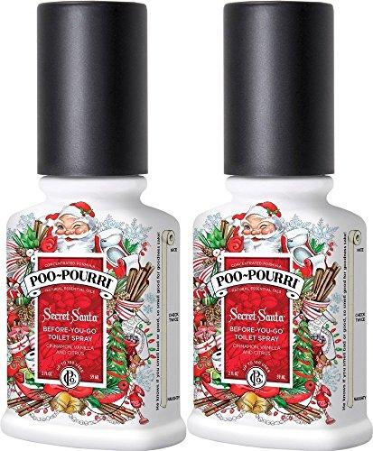 Poo-Pourri Secret Santa Before You Go Spray 2 oz - 2 Pack