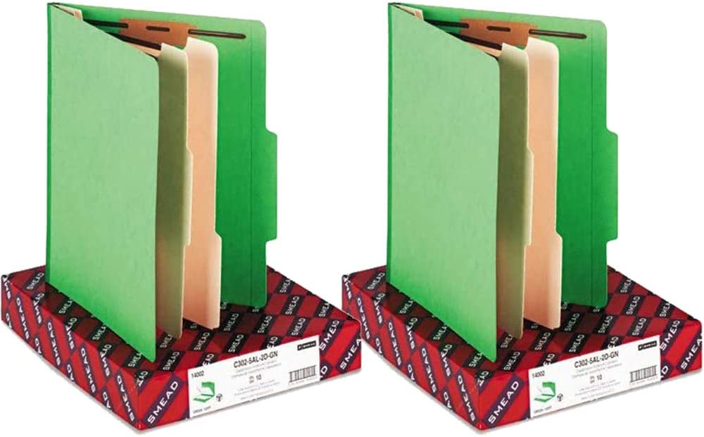 40% OFF Cheap Sale Smead : Top Tab Classification Dividers 2 latest w Folders 6-Section