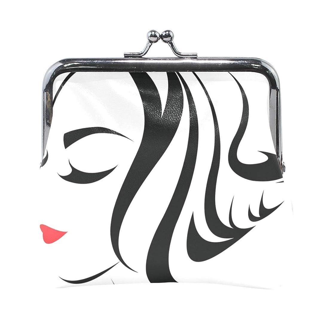 大きい投票大胆がま口 財布 口金 小銭入れ ポーチ 女 女性 ファッション ANNSIN バッグ かわいい 高級レザー レディース プレゼント ほど良いサイズ
