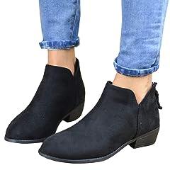 22084d5fadb LAICIGO Boots - Casual Women's Shoes