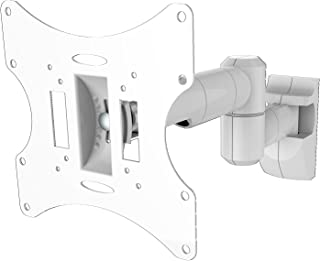 PureMounts LM TS32EW Wandhalterung für TV Geräte mit 58 107cm (23 42'), VESA 200x200, neigbar: +/ 20°, schwenkbar: +/ 90°, Wandabstand: 100 470mm, Traglast max: 30kg, weiß PM LM TS32EW