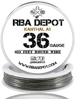 [RBA DEPOT] 100ft - 36 Gauge AWG KA1 FeCrAl Alloy Kanthal Resistance Wire A1