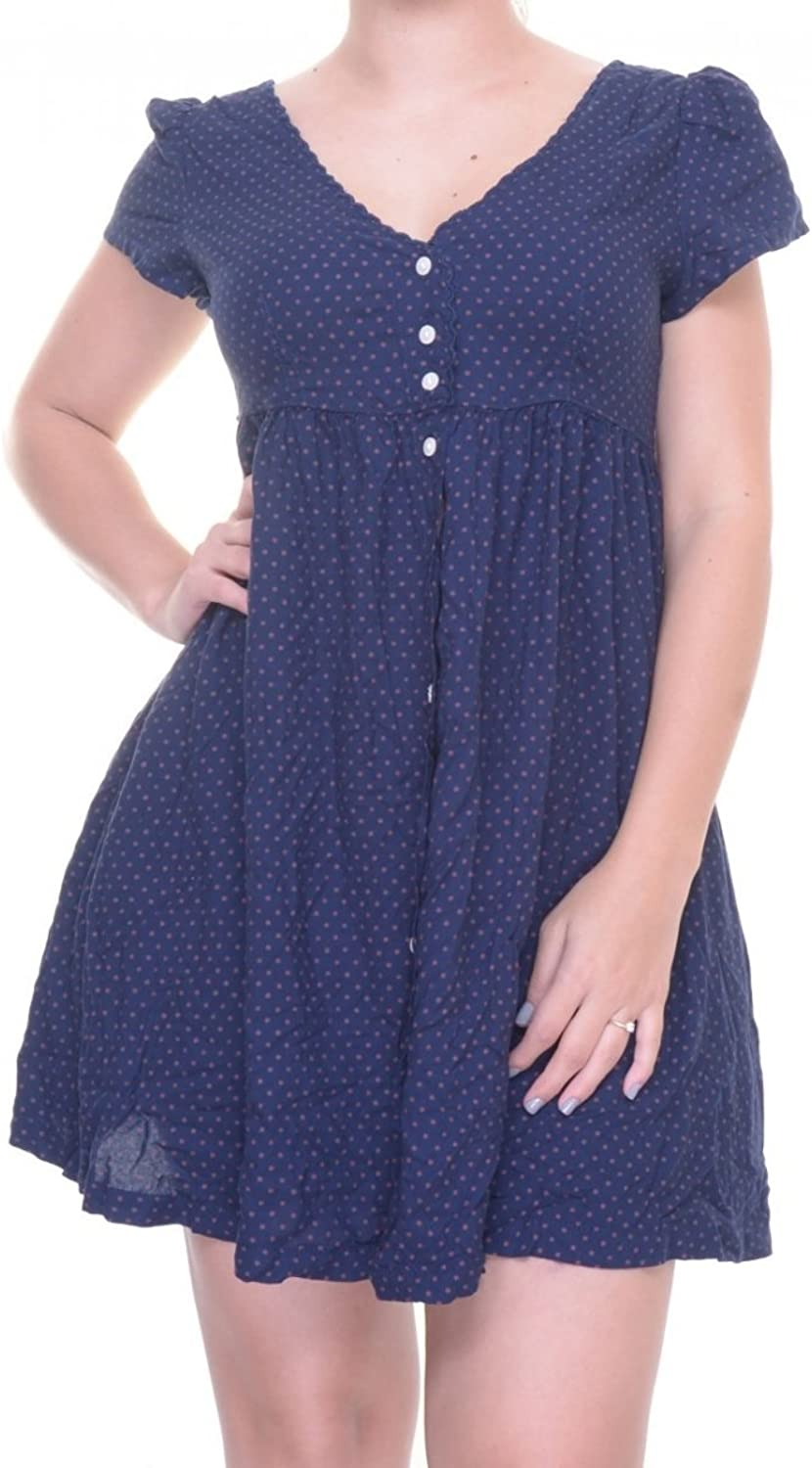 Denim & Supply Ralph Lauren Women's Star Shirt Dress bluee XS