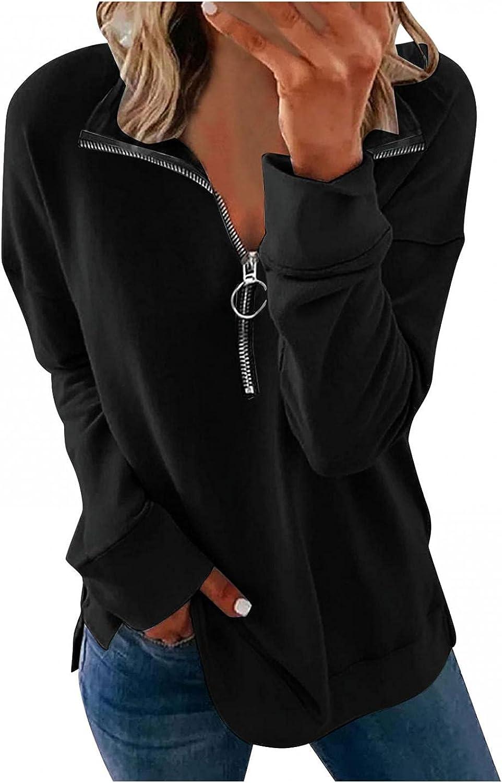 Aniwood Hoodies for Women Teen Girls Start Zip Up Hoodie Sweatshirt Casual Long Sleeve Drawstring Solid Jackets Coat