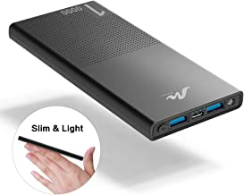 10000mAh Cell Phone External Battery Pack, Portable Phone Charger Power Bank 5V 3.1A Fast..