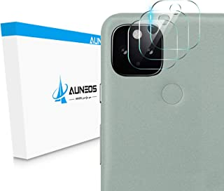 AUNEOS Google Pixel 5 用 カメラフィルム Pixel 5 用 レンズ保護 ガラスフィルム 日本旭硝子製 硬度9H キズ防止 耐衝撃 高透明度 防滴 防塵 極薄 グーグル Pixel 5 用 カメラ全体保護 (3枚セット)