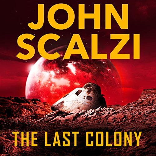The Last Colony audiobook cover art
