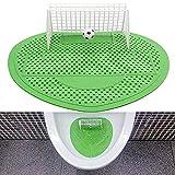 kxrzu Urinalfilter WC Reiniger Fußball Schießen Ziel Stil Urinal Bildschirm Filter Matte Pad