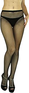 ToBeInStyle Women's Sexy Seamless Fishnet Full Footed Panty Hose Tights Hosiery