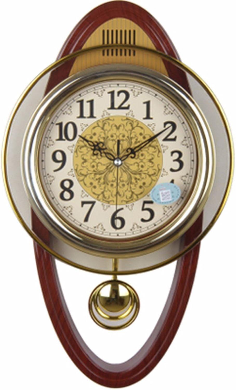 popular QPGGP-Reloj de parojo La Parojo de de de la Sala Reloj Reloj Reloj Reloj de Parojo Creativo Europeo de Minimalista Moderno Dormitorio Swing Reloj de Cuarzo,B  precios bajos todos los dias
