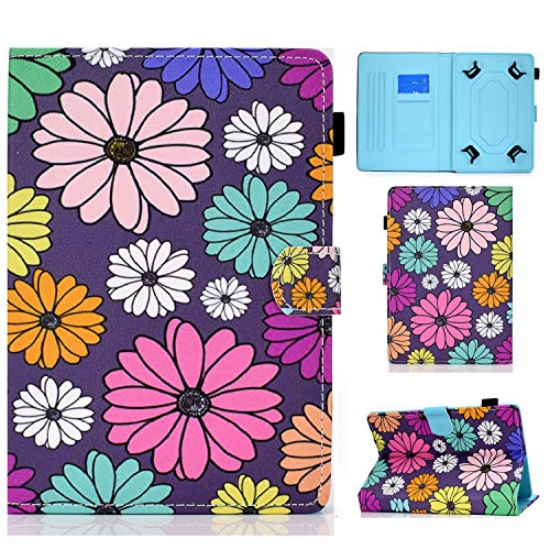 Universal Case for 7-8 Inch Tablet, Stand Folio Case Cover for All 7-8 Inch Tablet (Samsung Tab, iPad Mini, Fire 7-8,Lenovo Tab E7 7',Huawei MediaPad M5 Lite 8' Other 7-8' Tablets)