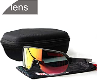 3 Lens Cycling Glasses Ultraviolet-Proof Sunglasses Women and Men Sport Bike Eyewear White Goggle