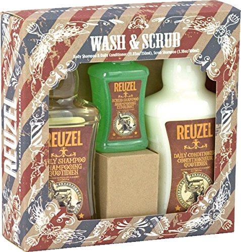 REUZEL WashundScrub Geschenkset, 1er Pack (1 x 800 ml)