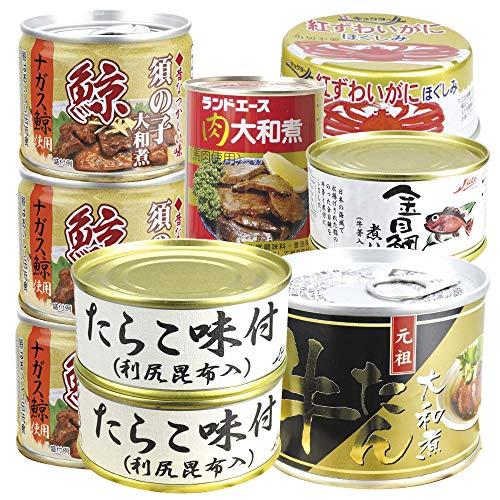 国華園 お肉と魚の缶詰福袋 3種6缶
