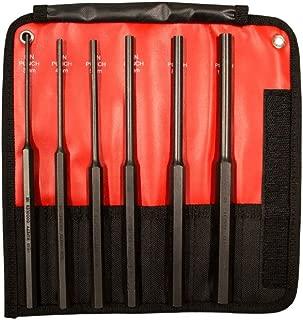 Mayhew 62081 6-Piece Hardened Steel Long Pin Punch Set