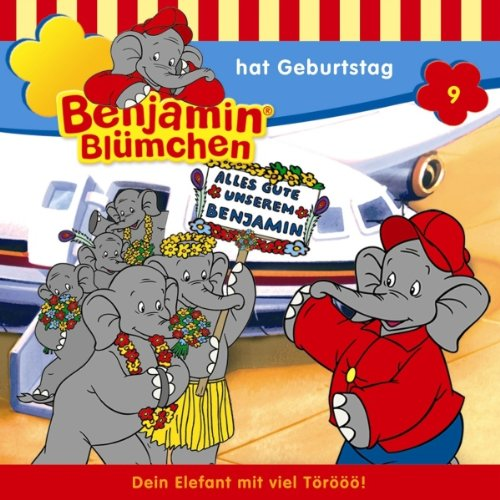 Benjamin hat Geburtstag audiobook cover art