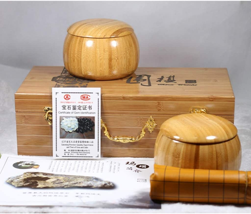 RKL Max 86% OFF Go Great interest Game Set with Double Agate and Imitation L Convex Stones