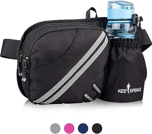 Road Trip Warrior Sport Waist Bag Fanny Pack Adjustable For Hike