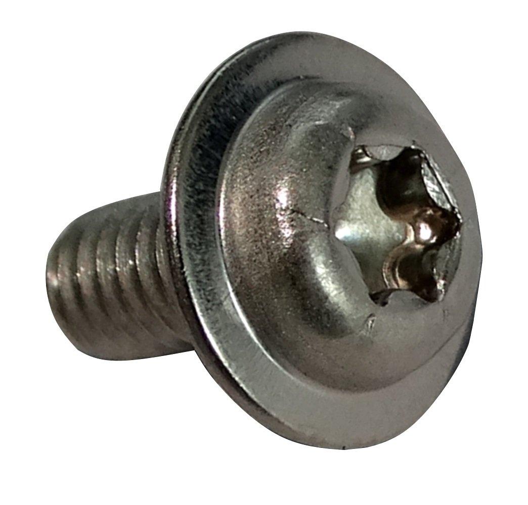Lot de 10 T/ête Ronde /à Col Carr/é Abimars boulons de carrosserie carr/és en acier inoxydable 8 mm x 25 mm 5//16-18 x1