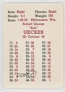 Bob Uecker (Baseball Card) 1967 APBA Baseball 1966 Season - [Base] #BOUE
