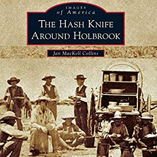 The Hash Knife Around Holbrook audiobook cover art