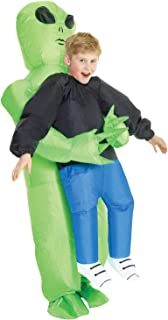 Morph Costumes Inflatable Halloween Costumes Alien Costume Kids Carrying Human Unisex One Size