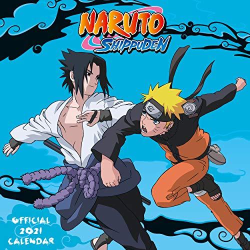 Official Naruto Anime 2021 Square Wall Calendar