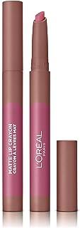 LOreal Paris Make-up Designer Pintalabios Matte Crayón 102 Caramel Blonde permanente rosa natural - 22 ml