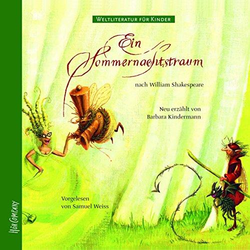 Ein Sommernachtstraum. Weltliteratur für Kinder Titelbild
