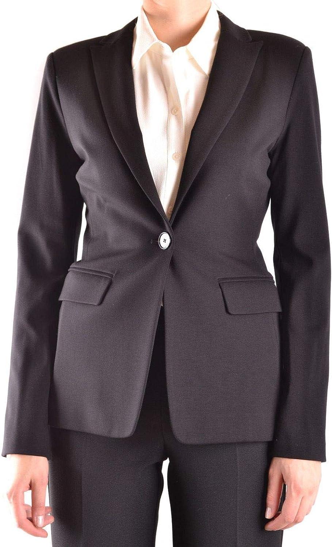 Pinko Women's SIGNUM1Z99 Black Viscose Blazer