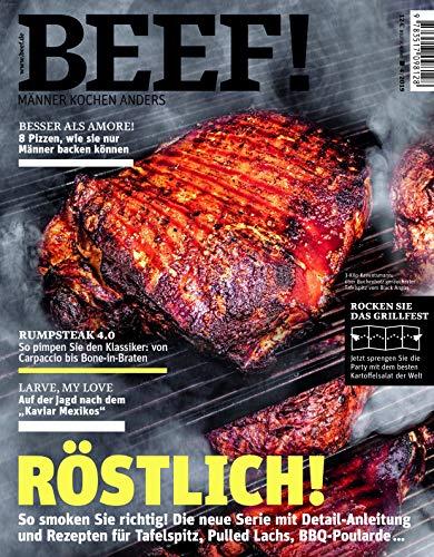 BEEF! Nr. 52 (4/2019): Männer kochen anders