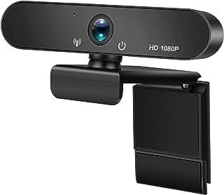 Webcam, HD 1080P / 2K AF autofocus webcam computer webcam no drive USB 2.0 interface plug and play built-in microphone for...