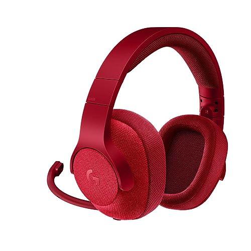 Logitech G433 - Auriculares con micrófono y Cable para Gaming, Sonido Envolvente 7.1, para