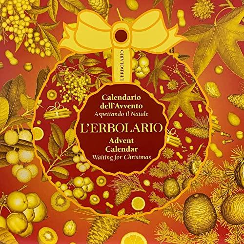 L' Erbolario - Calendario Dell'Avvento Natale 2020 - Set Regalo con 24 Segreti di Bellezza in Edizione Limitata -> in OMAGGIO Mascara Rougj + Tisana Erbe TISANIAMO