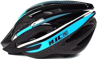 HJC R2, Lightweight and Hi Quality Airflow Bike Helmet with Detachable Visor - For Adult Men & Women, Black-Blue