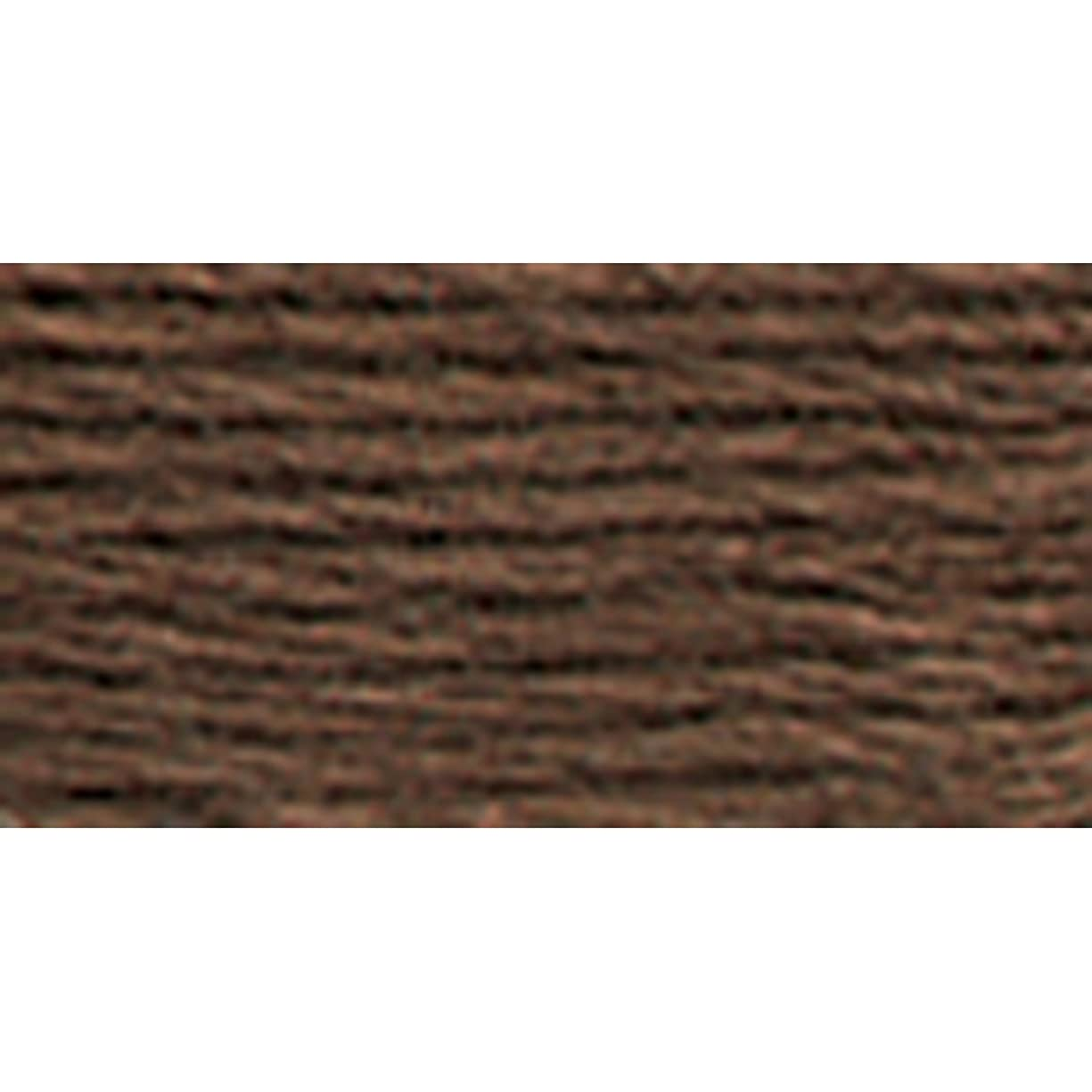 DMC 117-779 Six Strand Embroidery Cotton Floss, Dark Cocoa, 8.7-Yard