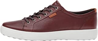ECCO Men's Soft 7 Perforated Tie Fashion Sneaker