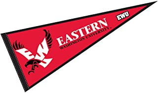 College Flags and Banners Co. Eastern Washington Eagles Pennant Full Size Felt