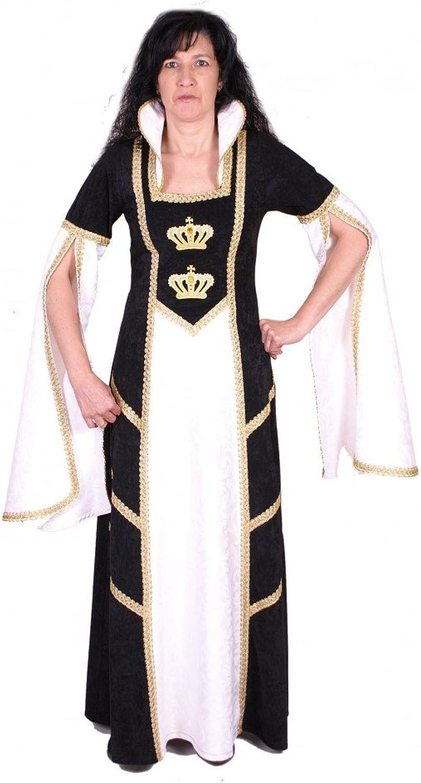 Más asequible Traje medieval blancoa blancoa blancoa Reina  punto de venta barato