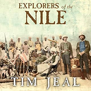 Explorers of the Nile audiobook cover art