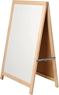 Lavagna Doppia in Legno ARTE REGAL ArteRegal-52965 100 x 55 cm Colore: Bianco