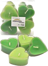 Horizon Candle Heart Shape Tealights Candle 4 pieces