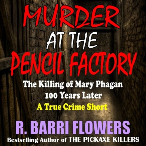 Murder at the Pencil Factory audiobook cover art