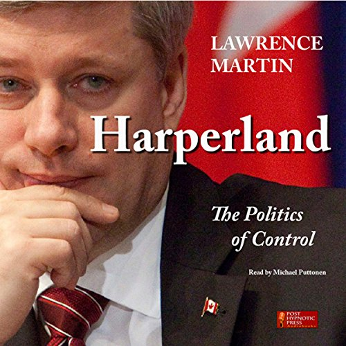 Harperland audiobook cover art